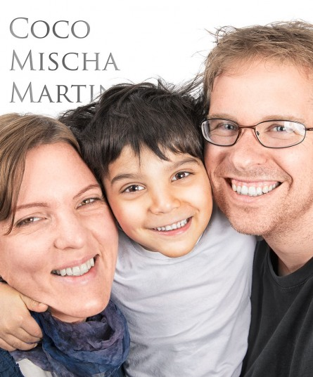 Coco, Mischa & Martin…