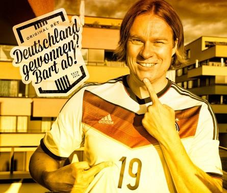 Deutschland gewinnt? Bart ab!
