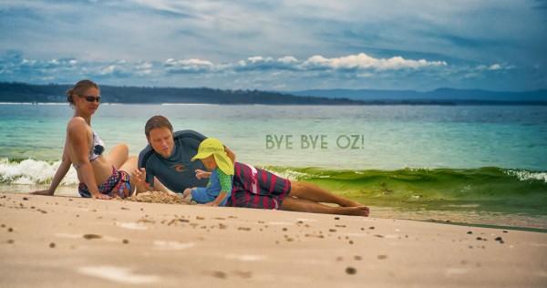 Goodbye Australia – for now!